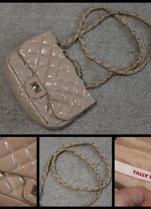 Tally weijl.милая сумочка на цепочке.