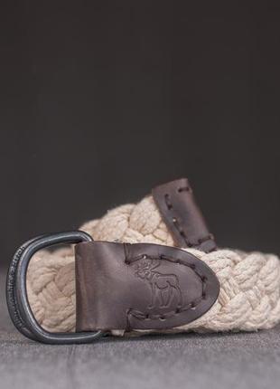Коттоновый ремень abercrombie & fitch пояс мужской кожа