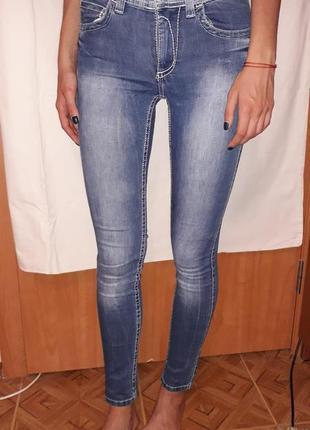 Джинсы глория джинс размер  38 (xs - s)