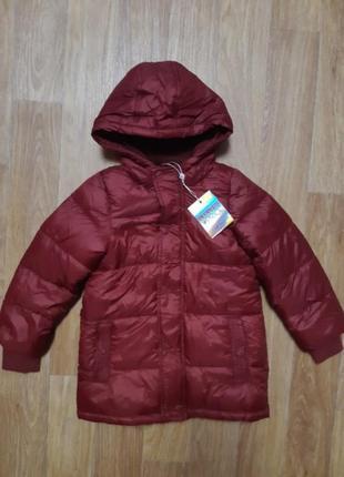 Куртка  теплая piazza italia kids 3-4г.2
