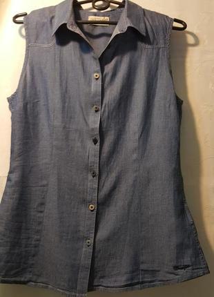"""Шикарная джинсовая  рубашка  """"wrangler"""""""