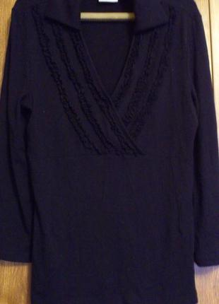 Трикотажная блуза с длинным рукавом бренд next
