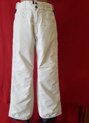 Фирменные горнолыжные штаны burton pазмер s