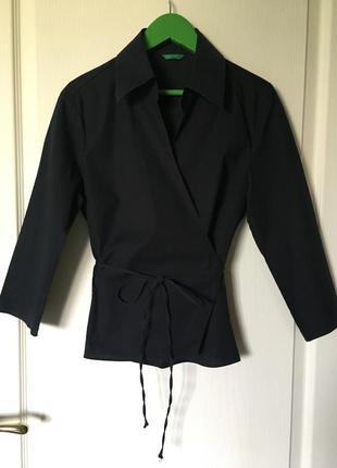 🎉 1+1=3 брендовая рубашка на запах, блуза, блузка