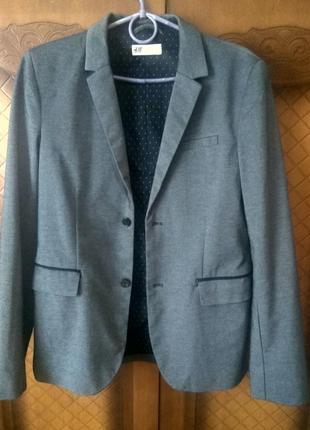 Фирменный мужской пиджак, жакет, тренч