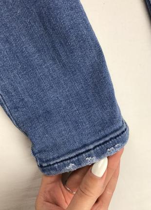 Джинсы от mango высветленные джинсы узкие джинсы4