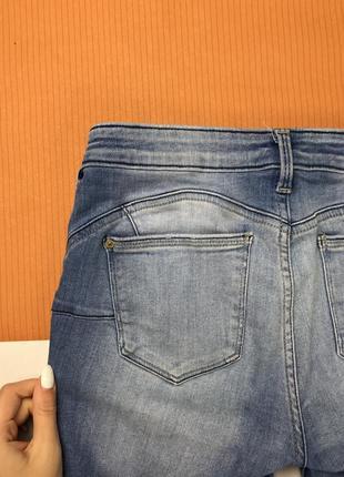 Джинсы от mango высветленные джинсы узкие джинсы2