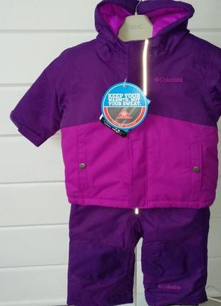 Зимний комбинезон, костюм columbia buga set 6-12m