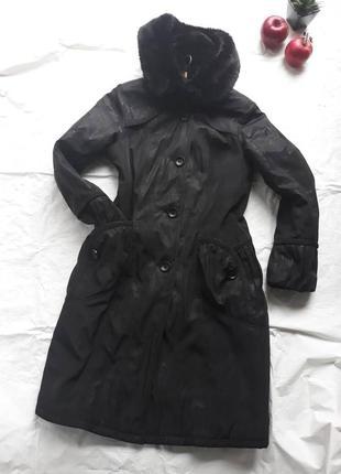 Пальто с капюшоном 50 р