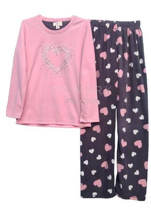 Женская флисовая пижама primark