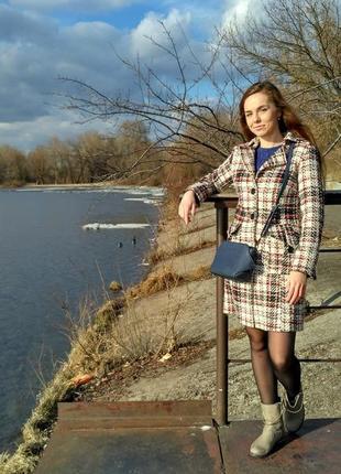 Осеннее плотное пальто