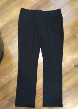 Акция черные классические зауженные брюки
