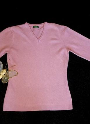 Шерстяной свитер, джемпер, benetton