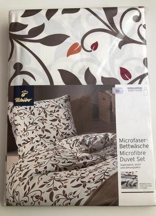 Комплект постельного белья из микрофибры 125*200 + 80*80