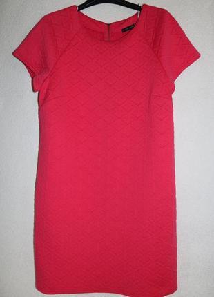 Шикарное розовое платье оверсайз , р 14-16