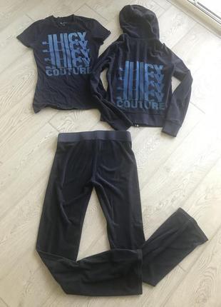 Махровый спортивный костюм juicy couture dolce gabbanapxs-s