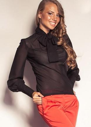 Шифоновая блуза vilenna xs, s