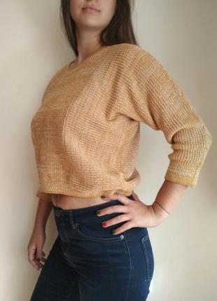 Укороченный свитер, кофта кроп topshop