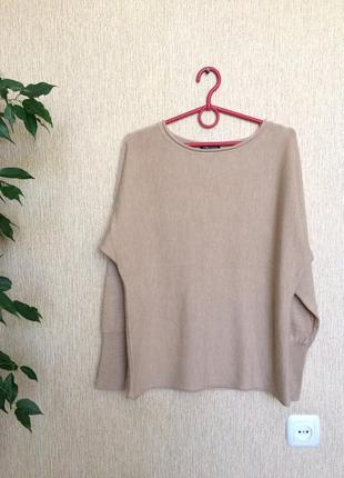 Нежный, лёгкий , качественный свитер lord & taylor, 100% merino wool