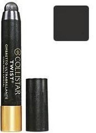 Collistar twist ultra-shiny eye shadow 108 titanio тени стик
