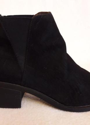 Деми ботинки, челси фирмы divided by h&m p. 39 стелька 25,5 см