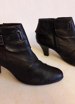 c248dfeb38f2 40 стелька 26 см1  Кожаные деми ботинки фирмы janet d ( германия) р. 40  стелька 26 см2 ...