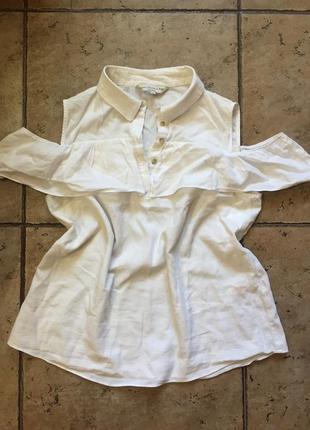 Рубашка с открытыми плечами f&f