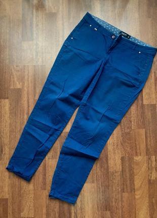 Синие повседневные штаны