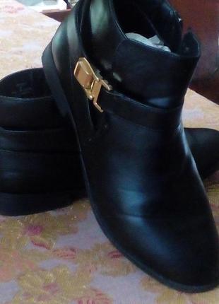 Ботинки женские эко кожа