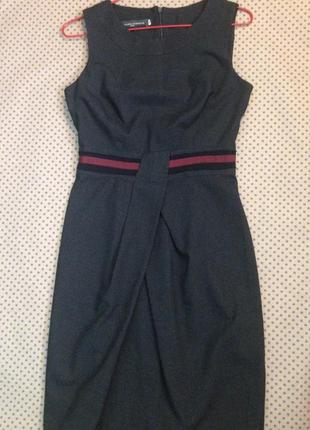 Платье сарафан для офиса/36/sandro ferrone/италия