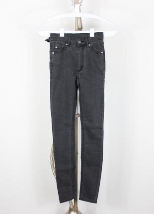 Новые серые джинсы-скинни cheap monday