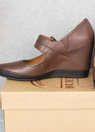 Новые туфли /кожа /big rope