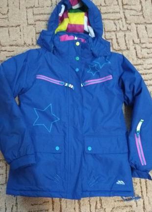 Термокуртка для девочки 9-10 лет