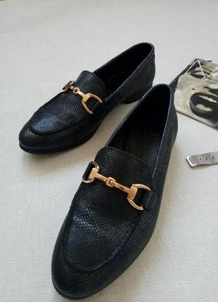Туфли лоферы в стиле gucci