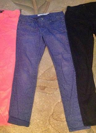Супер штаны джинсы скини h&m