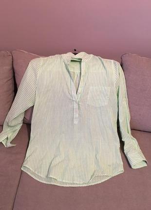Свободная рубашка в полоску loft the original