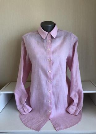 Красивая рубашка rossana diva лён