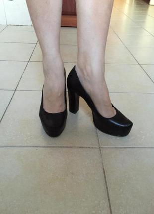 Туфли кожаные best but польша