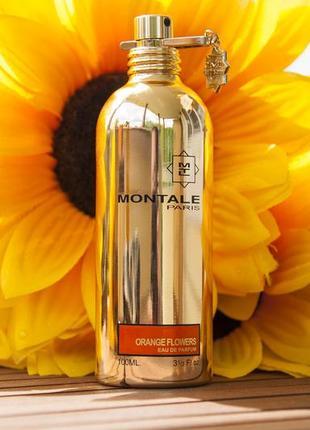 Montale  orange flowers  оригинал