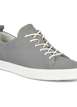 Кожаные туфли кеды ecco gillian, размер 39