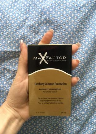 Max factor facefinity spf 20 пудра компактная