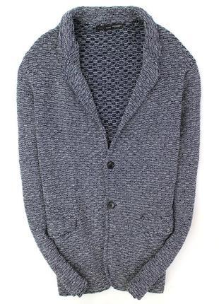 Шикарный вязаный пиджак zara