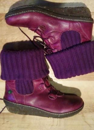 Шкіряне взуття чоботи el naturalista.