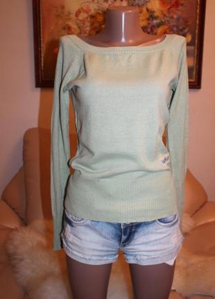 Only красивейший свитер лазурного цвета размер s m в наличии only