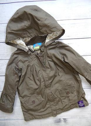Куртка-ветровка topolino, для девочки от года до двух. (можно дольше)большемерит.