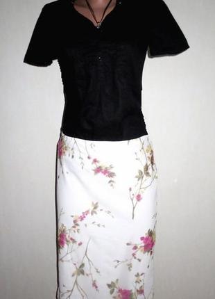 Стильная юбка от hennes размер: 44-s