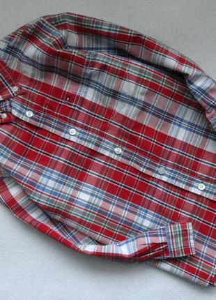 Фирменная рубашка tommy hilfiger 6л р.116