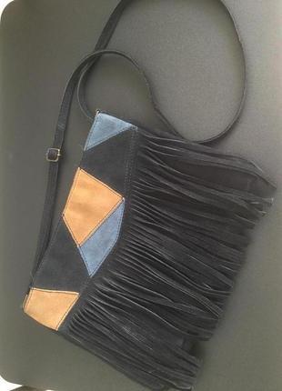 Красивая сумочка натуральная кожа