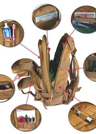 Рюкзак  универсальный. туристический ,городской,.польша. распродажа !4