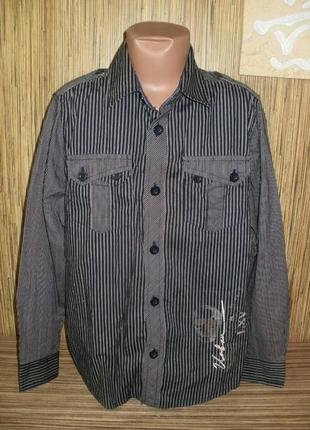 Рубашка с длинным рукавом 9-10 лет urban